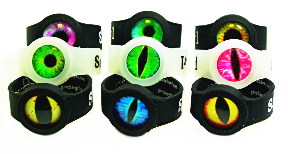 eyeball design save-a-bowls for glass pipes, wooden pipes, metal pipes, ceramic pipes, etc.